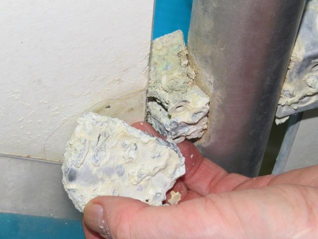 Aluminium steun in RvS hekwerk